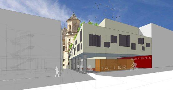 viviendas sostenibles en málaga · imagen exterior · arquible