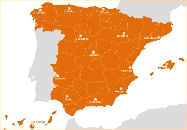 mapa sedes certificanet · arquible