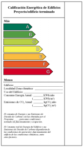 certificación energética · arquible
