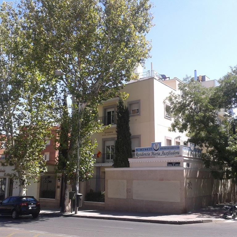 auditoría energética residencia maria auxiliadora · exterior · arquible