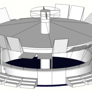 roquetas · módulo 3D · arquible